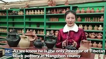 Potters have been throwing black pottery in NW China's Qinghai Province for 5,000 years. Today, however, there are few master artisans left to keep the craft al