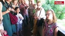 VIDEO. Amboise: Guides en herbe au Clos Lucé