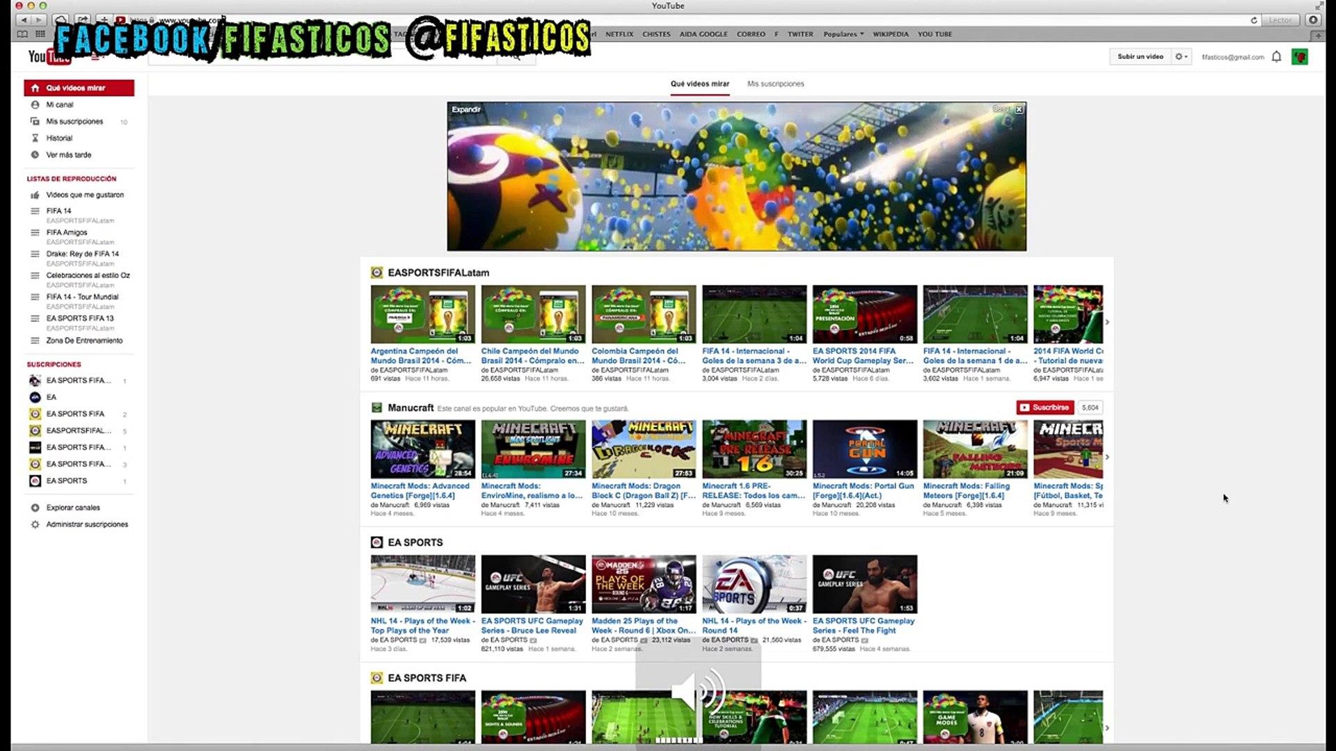 Sorprendente anuncio de FIFA World Cup Brazil 2014 !!