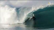 Juste pour le plaisir, quelques images des premières houles du sud à #Teahupoo... Du beau #surf mais aussi de belles chutes ☺ Des images signées Tim Pruvost.