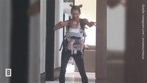 Anna Kournikova: Ihr ausgelassener Tanz mit dem Säugling
