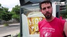 Tours: nouvelle action des anti-pub