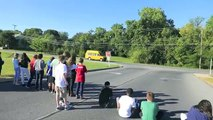 toy car speed trap - calculating speed // Homemade Science with Bruce Yeany