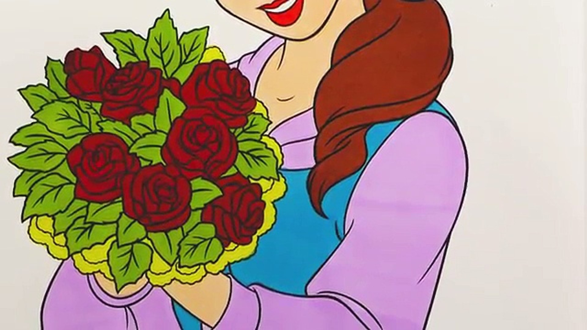 coloring pages disney princess belle and ariel l drawing pages to color for kids l rainbow colors