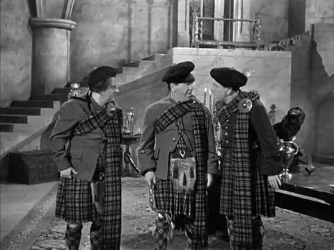 The Three Stooges 108 The Hot Scots 1948 Shemp Larry Moe Video