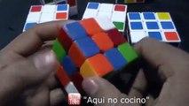 Como armar cubo rubik, 3x3, primera parte: cruz, Metodo principiantes
