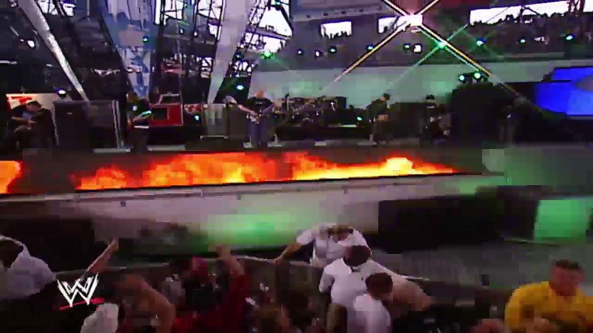 Wrestlemania 19 2003 XIX Full Screen Part 1  HD