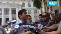 Marcos claims Robredo wants to change PET rules for her