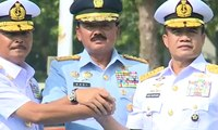 Laksamana Siwi Sukma Adji Jalani Sertijab KSAL