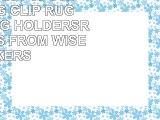 RUG CLIPS 25 Pcs STEEL HANGING CLIP RUG GRIPPERSRUG HOLDERSRUG HANGERS FROM WISE