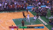 LeBron James Stares Down The Entire Celtics Team After Blocking Terry Rozier! Cavaliers vs Celtics