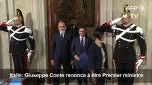 Italie: Giuseppe Conte renonce à être Premier ministre