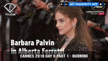 Barbara Palvin at Burning Red Carpet at Cannes Film Festival 2018 Day 9 Part 1 | FashionTV | FTVRCHD-BANNER