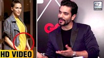 Angad Bedi Reacts On Neha Dhupia's Pregnancy