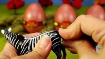 Toy Wild Animals 3D Puzzles Collection Zebra Hippo Giraffe Cheetah │ Zoo Animals Fun Fs For Kids