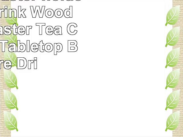 Wooden coaster holder set for drink Wooden Bar Coaster Tea Coffee Mug Tabletop Barware