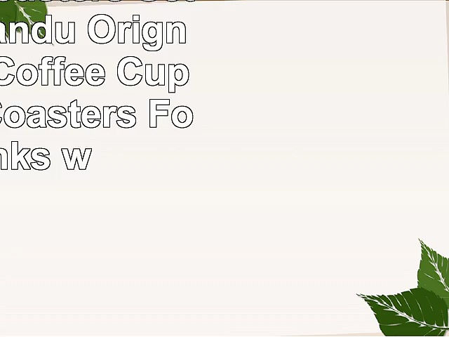 Ceramic Coasters Set of 4Lizimandu Orignal Design Coffee Cup Ceramic Coasters For Drinks