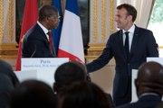 Déclaration conjointe à la presse du Président de la République, Emmanuel Macron, et de João Lourenço, Président de la République d'Angola