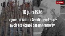 10 juin 1926 : le jour où Antoni Gaudi meurt après avoir été écrasé par un tramway