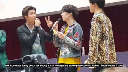 [ENG] Namjoon Exposed Suga forgot the Genius Lab Password and his reaction to it ~~ LOL
