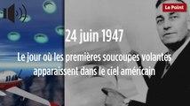 24 juin 1947 : le jour où les premières soucoupes volantes apparaissent dans le ciel américain