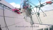 Russie : Une vitre tombe du 47ème étage d'un immeuble (Vidéo)