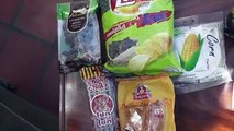 CRAZY THAI FOOD TEST 2!! BRITISH TRYS THAI SNACKS