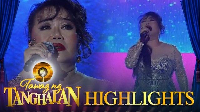 Tawag ng Tanghalan: Asia's Timeless Diva Dulce performs on Tawag Ng Tanghalan stage