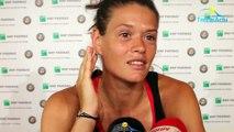 """Roland-Garros 2018 - Chloé Paquet : """"Forcément déçue, je suis passée si près... à 2 points du match"""""""