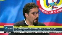 Analistas: Candidatos colombianos buscarán alianzas hacia balotaje