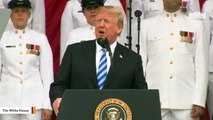 Trump Delivers Remarks At Memorial Day Ceremony
