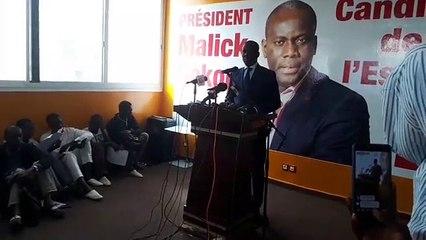 El Hadji Malick Gakou attaque le bilan de Macky Sall