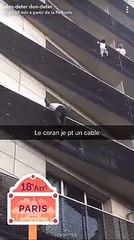 L'homme qui a sauvé un enfant suspendu dans le vide à Paris est un Malien sans papier