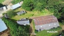 MORBIHAN - Proche Locminé. Corps de ferme avec 8500m²