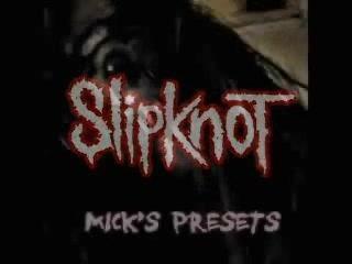 Slipknot Mick Thompson guitare demo