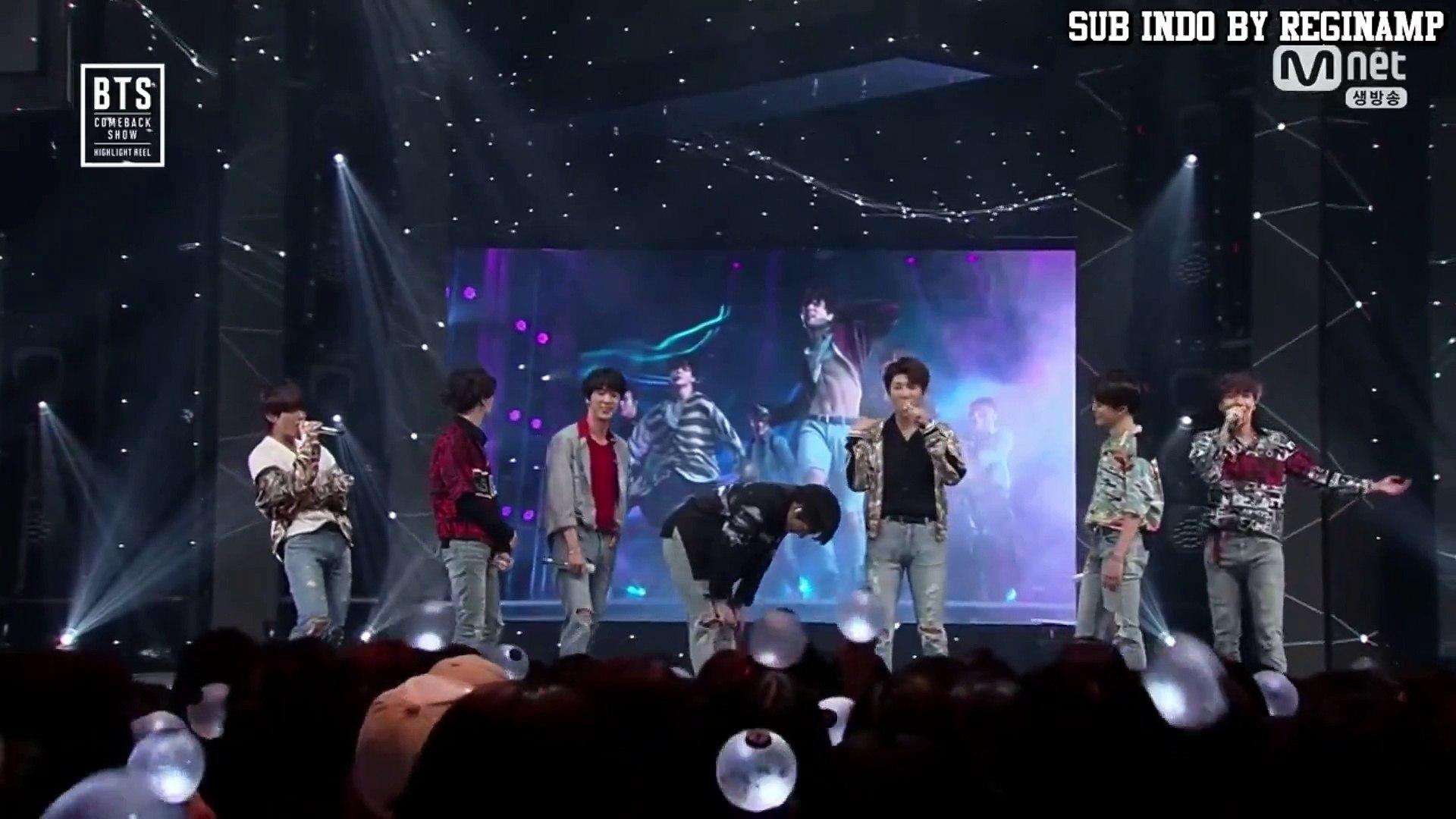 [INDO SUB] BTS Comeback Show Highliht Reel - Opening