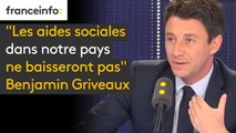 """""""Les aides sociales dans notre pays ne baisseront pas"""", garantit Benjamin Griveaux, porte-parole du gouvernement, invité du #8h30politique sur franceinfo"""