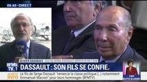 Mort de Serge Dassault: son fils Olivier, l'assure. Il n'y aura pas de guerre de succession entre les enfants
