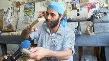 Kömbenin vazgeçilmezi: 'Tahta kalıplar'... Ramazan Bayramı için kömbe pastası hazırlıkları başladı
