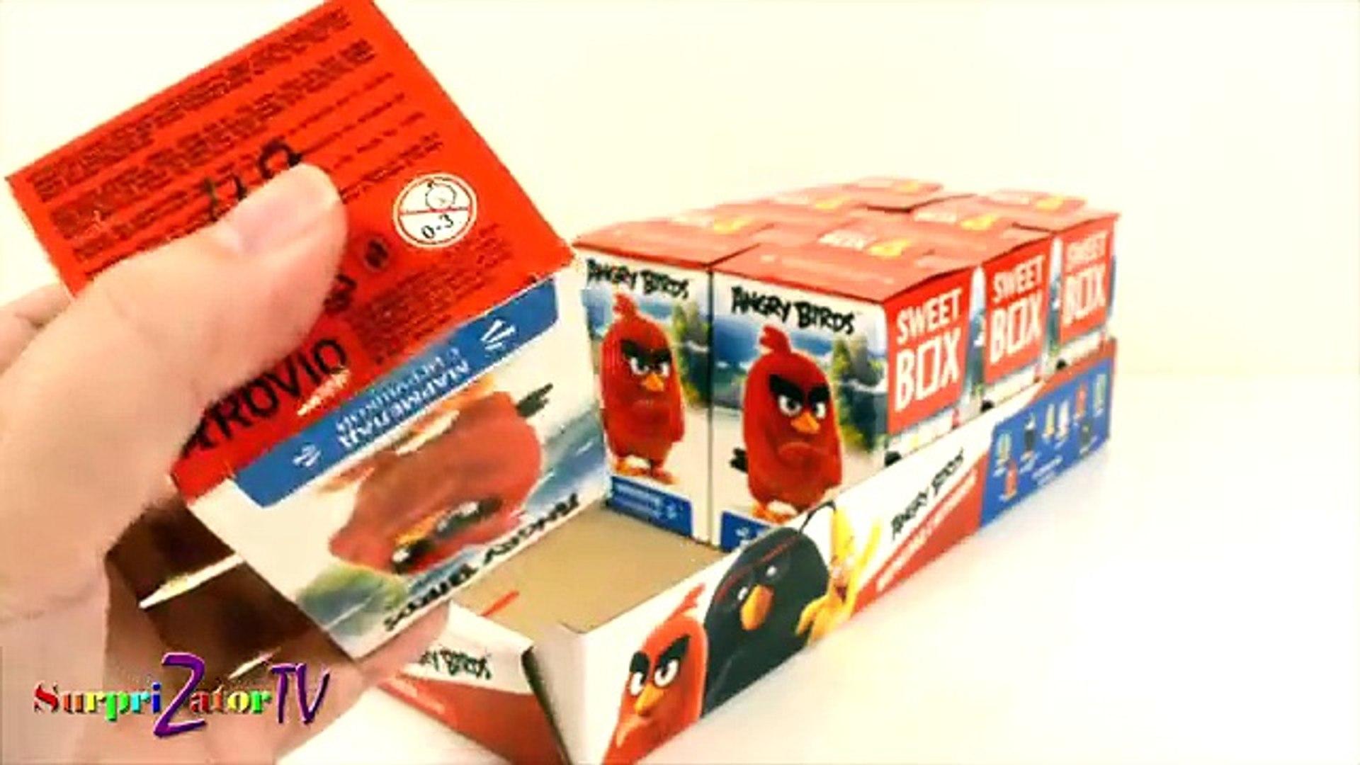 Энгри Бёрдс В Кино СВИТ БОКС Коробочки Сюрпризы ANGRY BIRDS MOVIE Blind Box SWEET BOX Весь Блок