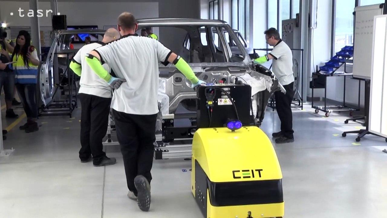 NITRA: Automobilka Jaguar Land Rover dokončuje výrobné priestory
