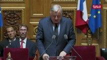 Hommage de Gérard Larcher à Serge Dassault