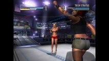 WWE Divas Bra & Panties - Lita vs. Trish Stratus