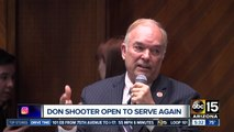 Don Shooter, ex-lawmaker expelled for misconduct, open to serving again