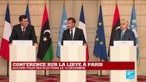 Conférence sur la Libye à Paris : revivez la conférence de presse