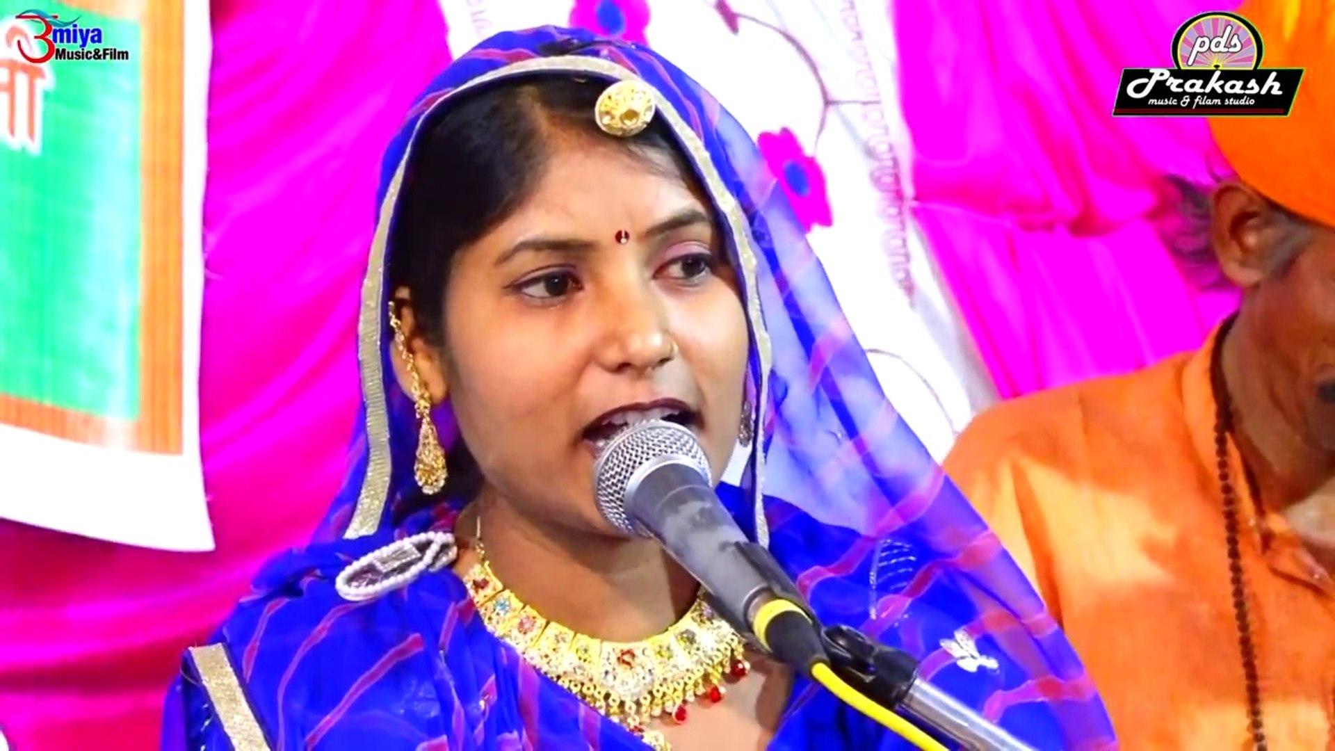 FULL HD Video | Marwadi Bhajan | Pushpa Barot | Govind Govind Bol | Rajasthani Live Program | Desi B