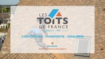 Les Toits de France, charpente, couverture et zinguerie à Bourges.