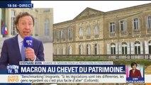 """Loto du patrimoine: """"Le patrimoine représente 60 milliards d'euros dans le PIB"""", justifie Stéphane Bern"""