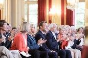 Discours du Président la République, Emmanuel Macron lors de la réception en l'honneur des personnalités engagés pour le patrimoine