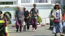 Who is this movie star in Bangkok, Thailand - The Grand Palace - 15 Jan 2015